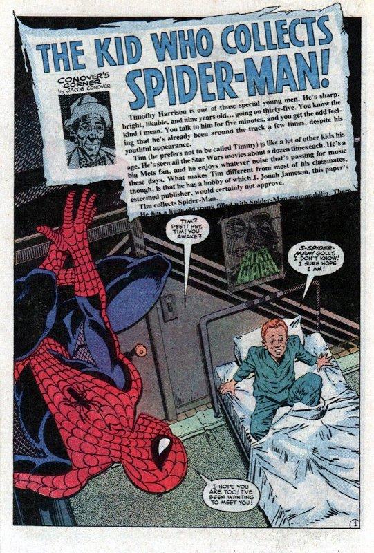 prima pagina di Amazing Spider-man #248