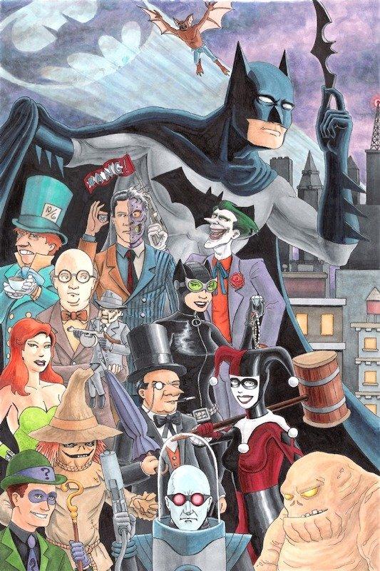 I Freak villain di Batman