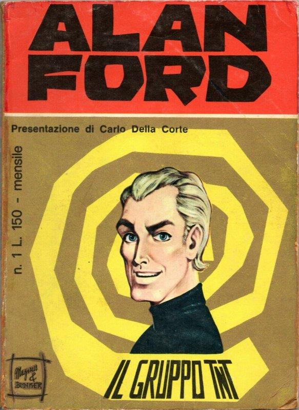 copertina dell'albo ALAN FORD n. 1