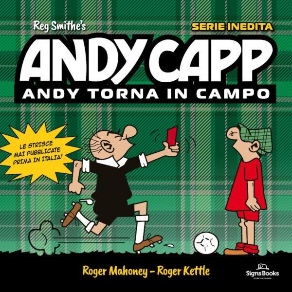 ANDYCAPP1 - copertina del nuovo volume edito da Signspublishing