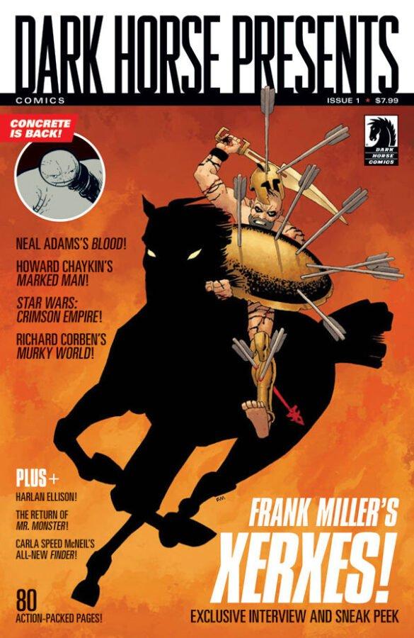 Dark Horse Comics Dark Horse Presents #1 (Frank Miller cover)