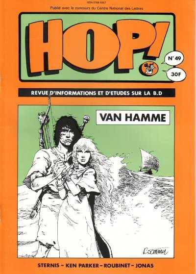 Copertina del n. 49 del trimestrale Hop (1991), dedicato a Van Hamme