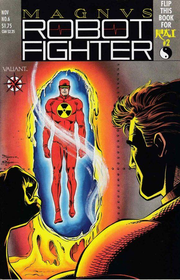 Magnus- Robot Fighter #6 valint comics