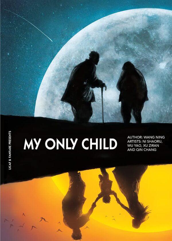 Poster - immagine promozionale dell'antologia My Only Child del creatore di fumetti cinese Wang Ning  (LICAF 2021)