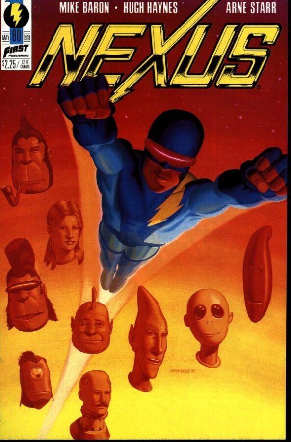 Nexus #80 cover - Last number