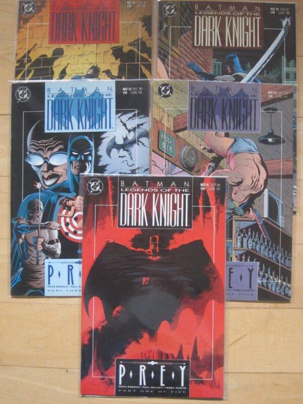 PREY (DA LEGENDS OF THE DARK KNIGHT ## 11-15) - COVERS