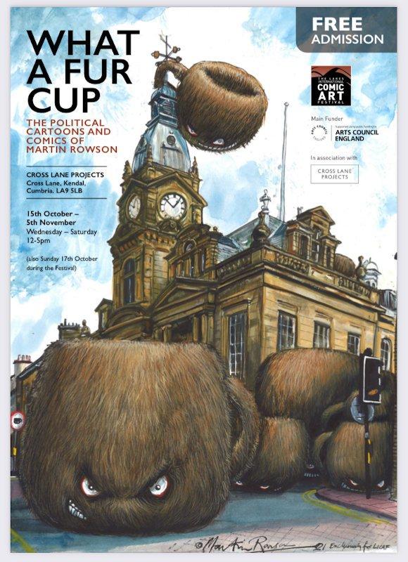 """Poster della Mostra """"What a Fur Cup"""" - LICAF 2021"""