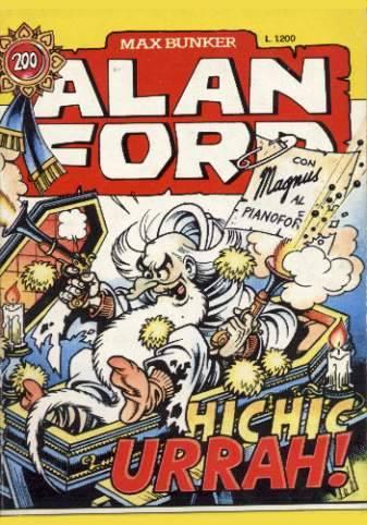 copertina della ristampa dell'albo ALAN FORD n. 200