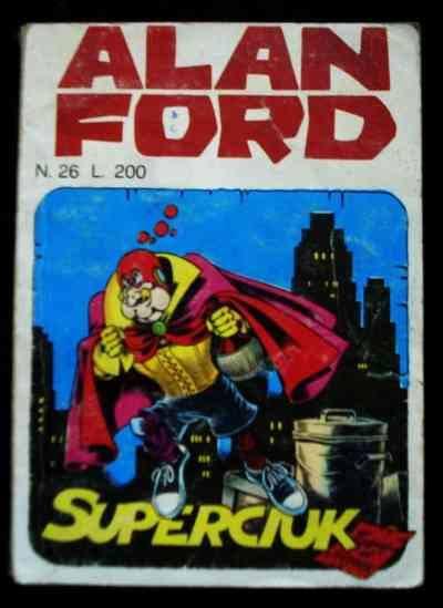 copertina dell'albo ALAN FORD n. 26