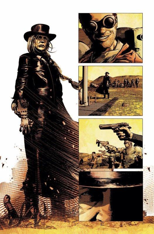 altra pagina estratta da Redempition, disegni di Mike deodato Jr