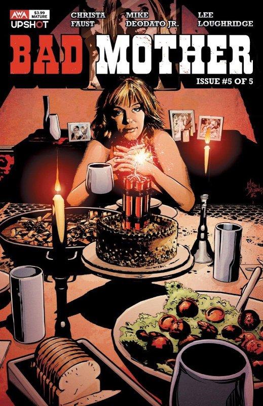 cover di Bad Mother #5 di Deodato Jr