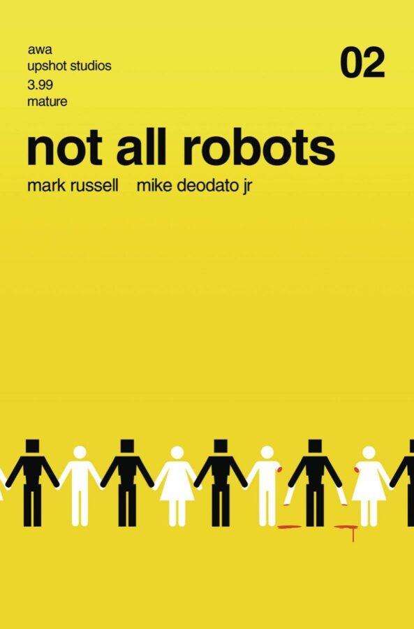 altra cover di Not all robots #2