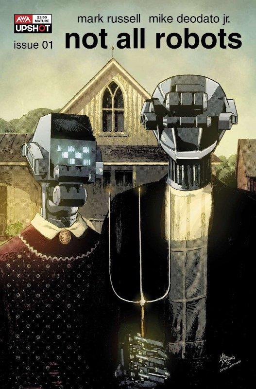 cover variant di Not all robots #1