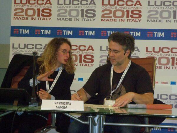 foto di Dan Panosian a Lucca 2018