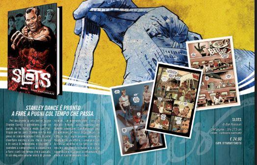 immagini promozionali del volume SLOTS