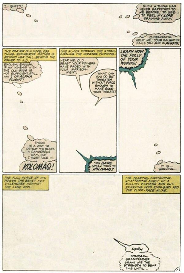 AlphaFlight #6 - nov. 198-jan.1984