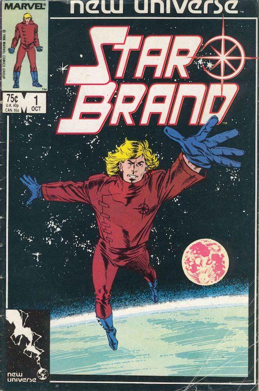 cover di Star Brand #1 disegnato da John romita JR