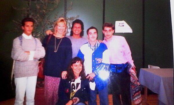 foto a Lucca nel 1994 quando JRJR fu ospite della Star comics.